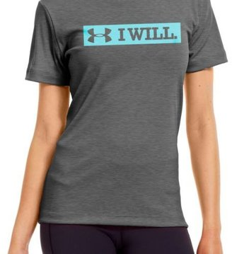 Under Armour Women's I Will Graphic T-shirt