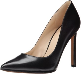 Nine West Women's Tatiana Dress Pump Black Dark Natural Suede 7 M US