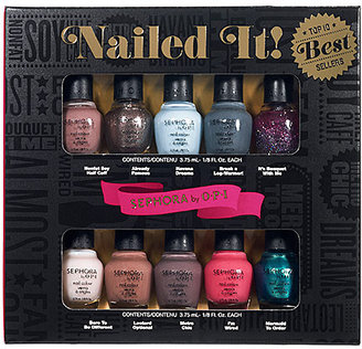 Sephora by OPI Nailed It! Top 10 Best Sellers
