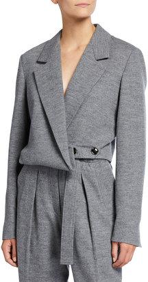 3.1 Phillip Lim Cropped Wool Blazer
