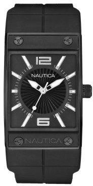 Nautica Women's N17527L NMC100 Black Watch $165 thestylecure.com