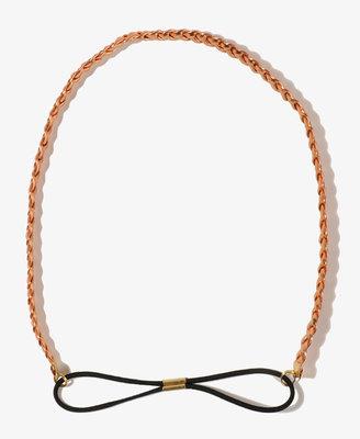 Forever 21 Metallic Braided Headband