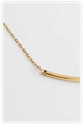 Kristen Elspeth Gold Arc Necklace