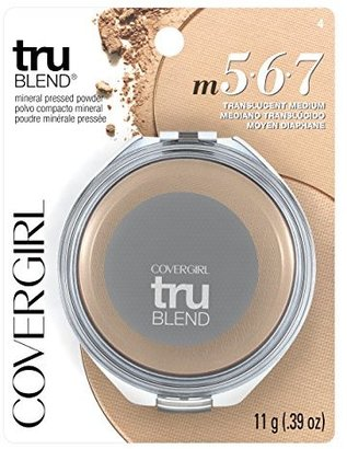 COVERGIRL truBlend Pressed Blendable Powder, Translucent Medium .39 oz (11 g) $11.73 thestylecure.com