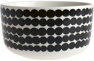 Marimekko Black and White Bowl. 17 oz.
