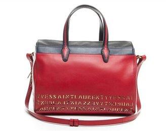 Saint Laurent Yves Pre-Owned Red and Black Borsa Flirty Bag