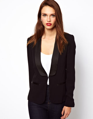 French Connection Blazer With Contrast Trim
