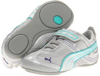 Puma Kids - Takala Jr (Toddler/Little Kid/Big Kid) (Gray Violet Silver/Atlantis) - Footwear