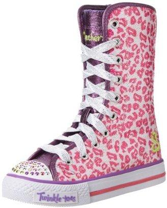 Skechers 10261L Twinkle Toes Shuffles Notorious Sneaker