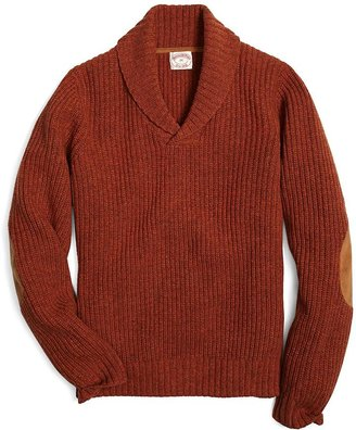 Brooks Brothers Shawl Collar Sweater