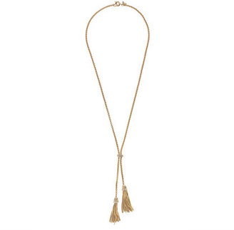 J.Crew Double-tassel necklace