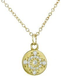 Adel Chefridi Diamond Shimmer Pendant - Yellow Gold