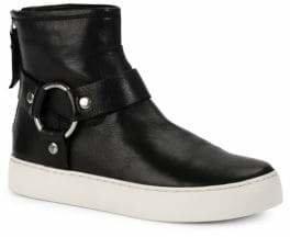 Frye Lena Harness Leather Booties