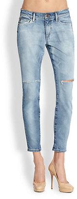 Joe's Jeans Mila Distressed Straight Ankle Jeans