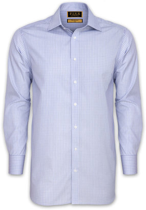 Thomas Pink Asgill Check Shirt - Double Cuff