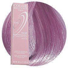 Ion Color Brilliance Brights Semi-permanent Hair Color Rose $8.79 thestylecure.com