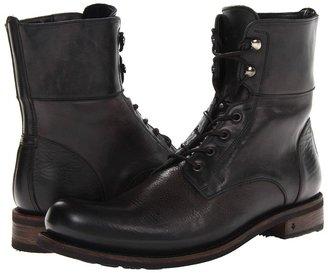 John Varvatos Brixton Convertible Work Boot (Merlot) - Footwear