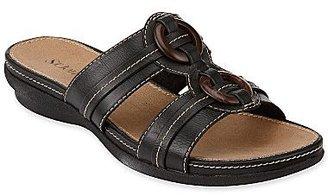 JCPenney St. John's Bay® Wahoo Slide Sandals w/ Ring Detail