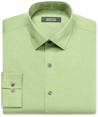 Kenneth Cole Reaction Dress Shirt, Slim-Fit Solid Long Sleeve Shirt