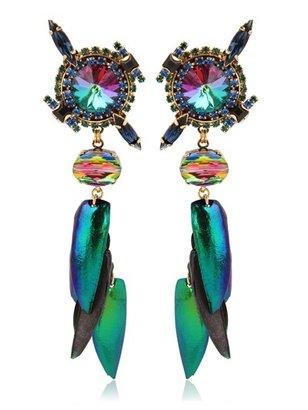 Erickson Beamon Aquarela Do Brasil Earrings