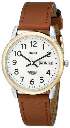 Timex - Easy Reader Brown Leather Watch #T20011 Watches $47 thestylecure.com