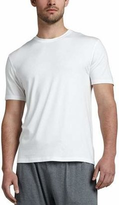 Derek Rose Basel 1 Jersey Tee, White $95 thestylecure.com
