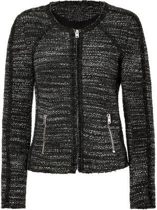 IRO Black-Multi Talia Bouclé Knit Jacket