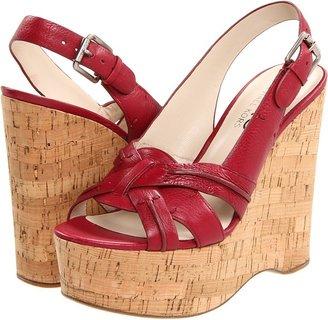 KORS Jazlyn (Cinnabar Tumbled Leather) - Footwear