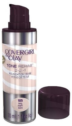 Cover Girl & Olay Tone Rehab 2-In-1 Foundation - Ivory 105