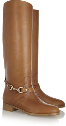 Mulberry Dorset leather riding boots