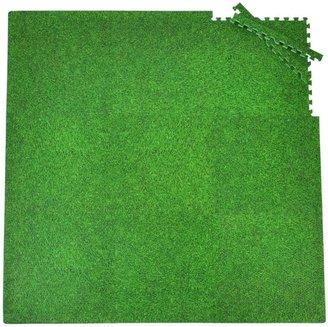 Tadpoles Playmat Set 9pc Set- Grass Print