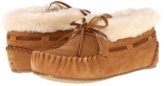 Minnetonka Kids Charley Bootie (Toddler/Little Kid/Big Kid) (Cinnamon Suede) Girl's Shoes