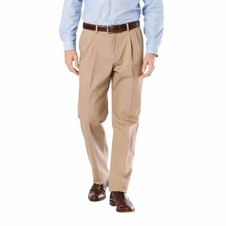 Dockers Relaxed Fit Signature Khaki Pants - Pleated D4