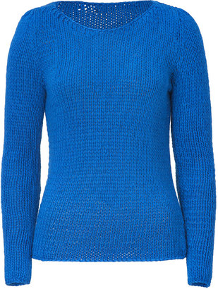 Marc by Marc Jacobs Fresh Blue Nadia Knit Top