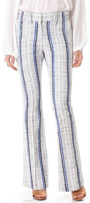 Rebecca Minkoff Sanderson Tweed Boot Cut Pants