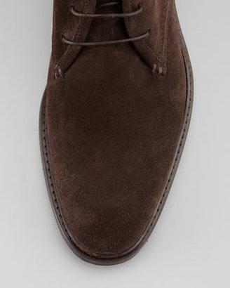 Ermenegildo Zegna Suede Ankle Boot