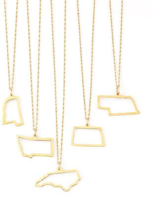 Maya Brenner Designs Maya Brenner 14k Gold Necklace, M-W & DC