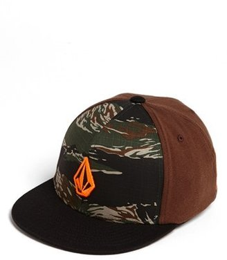 Volcom 'Stone' Fitted Baseball Cap (Big Boys)