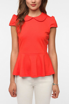 Urban Outfitters Pins and Needles Sarah Jane Peplum Top