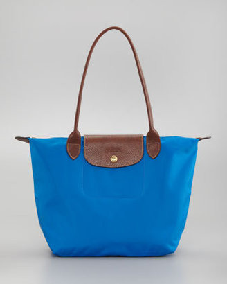 Longchamp Le Pliage Small Shoulder Tote Bag, Ultramarine