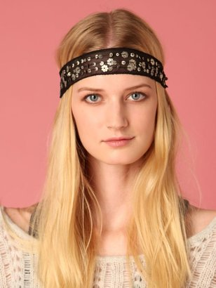Free People Multi Sequin Headband