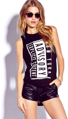 Forever 21 Explicit Muscle Tee