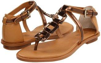 MICHAEL Michael Kors Darci Thong (Tan/Cocoa) - Footwear