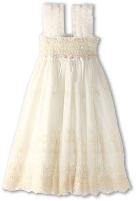 Luna Luna Copenhagen Lourdes Dress (Toddler) (Almond) - Apparel