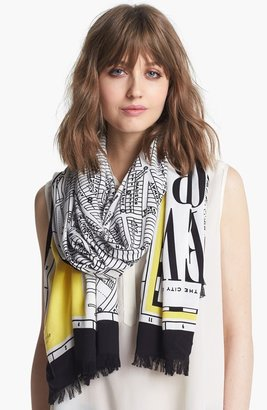 Kate Spade 'new York Map' Scarf