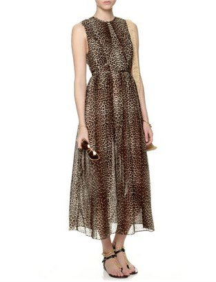 Zimmermann Leopard Cotton Instinct Dress