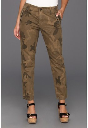 Joe's Jeans Straight Ankle Camo Trouser in Dayna (Dayna) - Apparel
