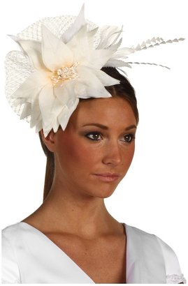 Jane Tran Ivory Flower Headband (Ivory) - Accessories