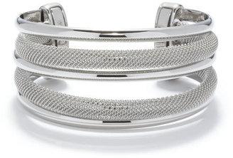 Anne Klein Multi Row Cuff Bracelet