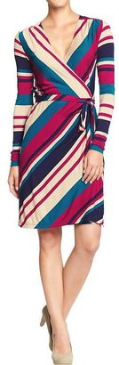 Old Navy Women's Long-Sleeved Wrap Dresses